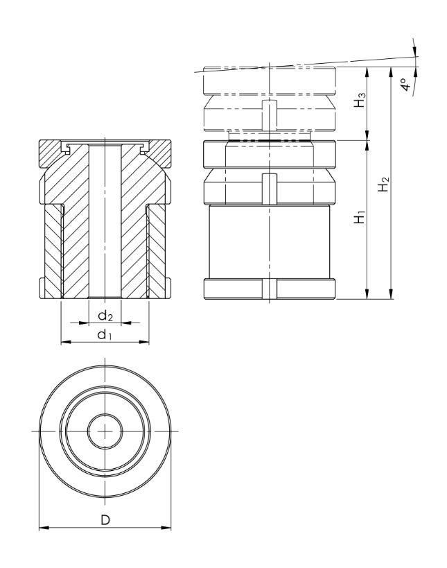 1.7 Kugel-Verstellschraube KVS