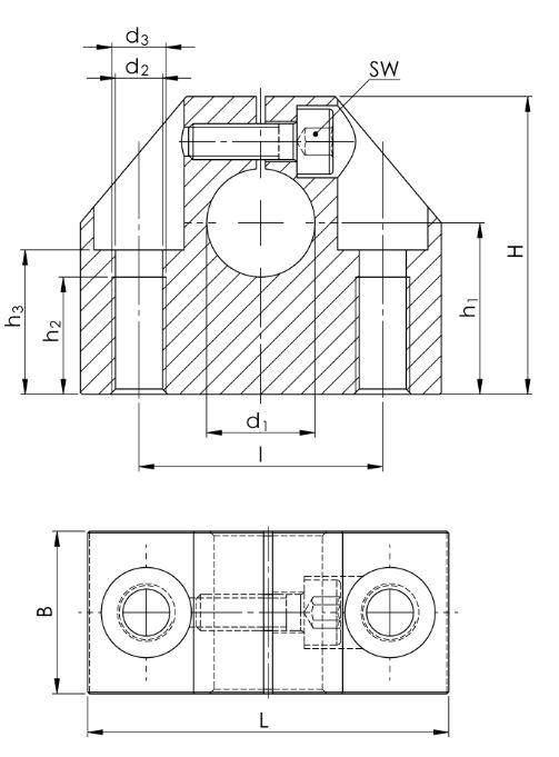 4. Präzisions-Wellenböcke GW-1 ISO Serie 1