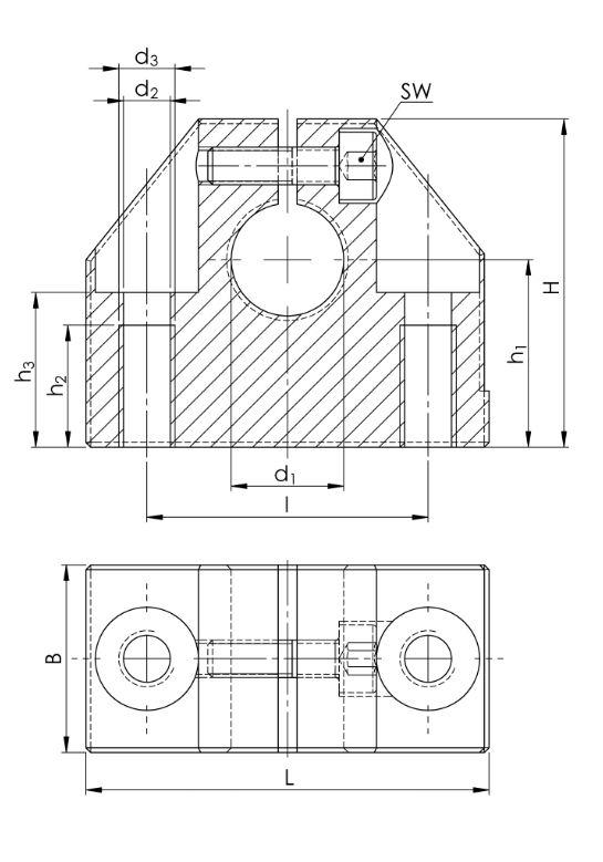 7. Präzisions-Wellenböcke GW-3 ISO Serie 3