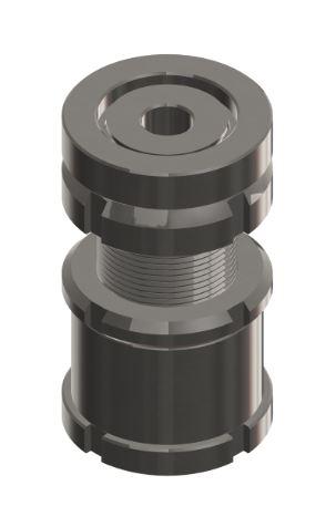 Kugelverstellschraube mit Kontermutter KVSK 20-11,0 Edelstahl