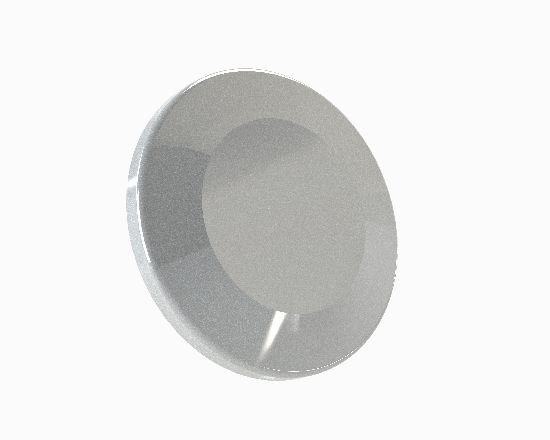 ISO-KF Glasflansch / Borosilicate