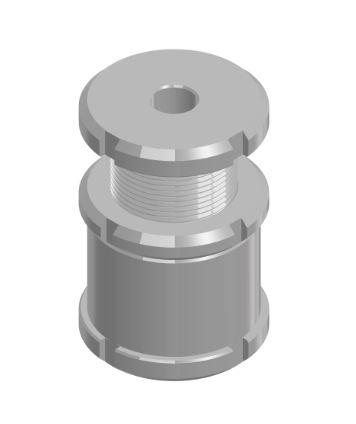 1.6 Höhenverstellschrauben mit Kontermutter HVSK
