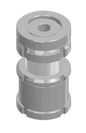 1.8 Kugel-Verstellschraube mit Kontermutter KVSK