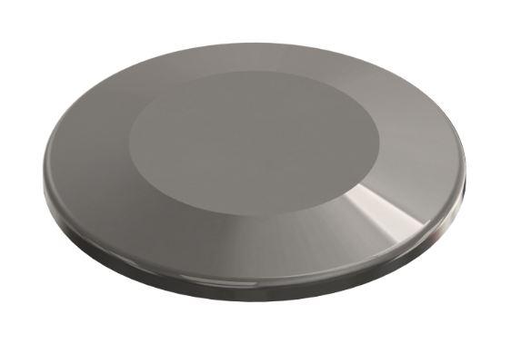 ISO-KF Blindflansch 1.4301