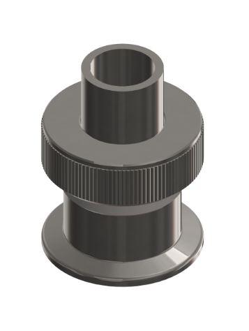 ISO-KF Rohrquetschverschraubung 1.4301