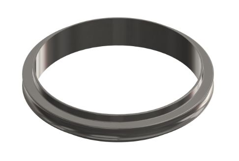 ISO-KF Zentrierring, ohne Dichtung 1.4301