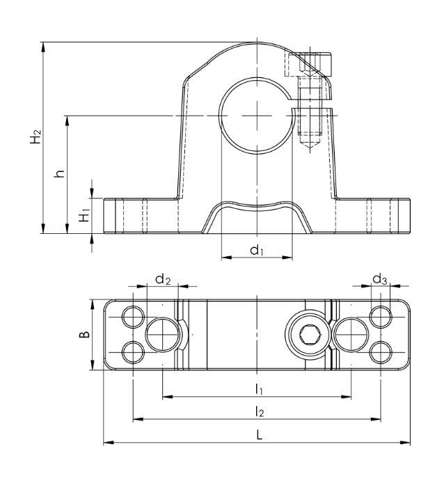6. Präzisions-Wellenböcke GW ISO Serie 3