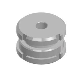 Höhenverstellbare Elemente Stahl verzinkt